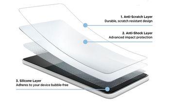 Защитное стекло Eiger iPhone XS Max Tri Flex SP