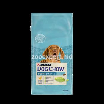 купить DOG CHOW Puppy с курицей 14kg в Кишинёве