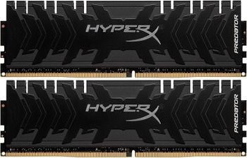 16GB (Kit of 2*8GB) DDR4-2400  Kingston HyperX® Predator DDR4, PC19200, CL12, 1.35V, Asymmetric BLACK low-profile heat spreader, Intel XMP Ready  (Extreme Memory Profiles)