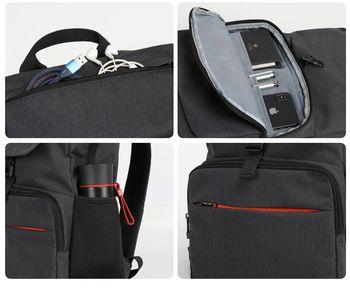 купить Рюкзак Tigernu T-B3900, чёрный в Кишинёве