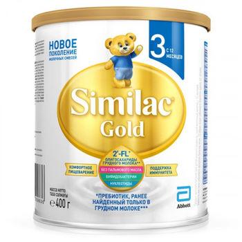 cumpără Similac Gold 3 formulă de lapte, 12+ luni, 400 g în Chișinău