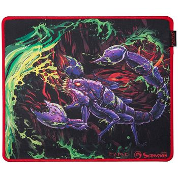 "MARVO ""G21"", Gaming Mouse Pad, Dimensions: 450 x 400 x 4 mm, Material: rubber base + microfiber"