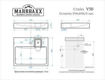 купить Раковины над стиральными машинами V050D1 в Кишинёве