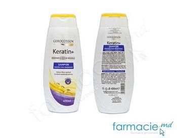 cumpără Gerocossen Keratin+  Sampon cu ulei de migdale p/u par degradat 400 ml în Chișinău
