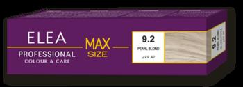 Краска для волос,SOLVEX Elea Max, 100 мл., 9.2 - Жемчужный блонд