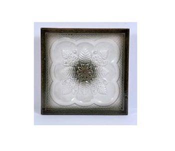 Олимпия, цвет хаки с белым