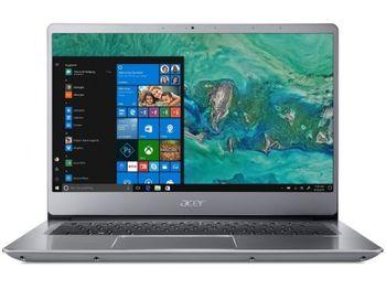 "ACER Swift 3 Sparkly Silver (NX.GXZEU.021), 14.0"" IPS FullHD + Win10 (Intel® Quad Core™ i5-8250U 1.60-3.40GHz (Kaby Lake R), 8GB DDR4 RAM, 128GB SSD, Intel® HD Graphics 620, CardReader, WiFi-AC/BT, 4cell, HD Webcam, RUS, Win10, 1.5kg, 17.95mm)"