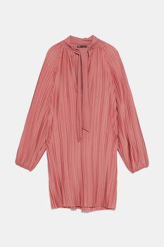 Платье ZARA Светло розовый 5584/907/620