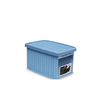 купить Коробка  Elegance с боковой дверцей М 290х390х210 мм, синий в Кишинёве