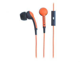 Lenovo P165 Headset  (in ear) with microphone, Small, Orange