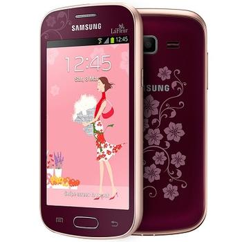 Samsung S7390 Galaxy Fresh (Trend) Red la Fleur