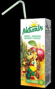 Naturalis нектар яблоко-ананас 0,2 Л