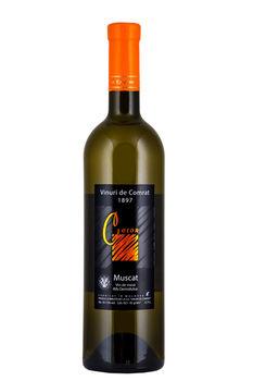 "Vinuri de Comrat Color ""Muscat""  demidulce alb,  0.75 L"