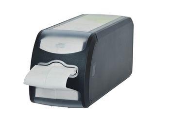 Диспенсер для салфеток N14, 143*121*326, Черный пластик