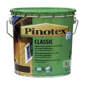Pinotex Пропитка Pinotex Classic Рябина 3л