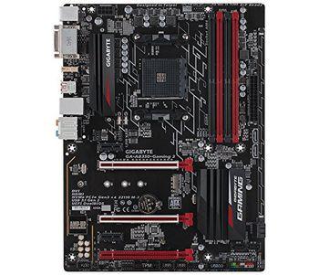 GIGABYTE GA-AB350-Gaming, Socket AM4, AMD B350, Dual 4xDDR4-3200, APU AMD graphics, DVI, HDMI, 2xPCIe X16, 6xSATA3, RAID, 1xM.2 slot,  ALC887 HDA, Gigabit LAN, 2xUSB3.1, 6xUSB3.0,  ATX