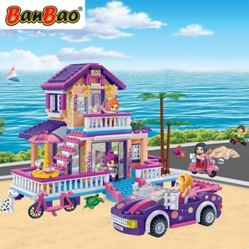 BanBao 6122  trendy beach - 565 blocks