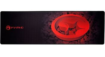 "Marvo ""G13"", Gaming Mouse Pad, Dimensions: 920 x 294 x 4 mm, Material: rubber base + microfiber, Red"