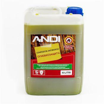 Supraten Огнебиозащитный состав Andi 10кг