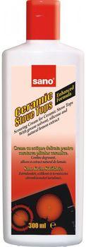 cumpără Sano Ceramic Stove Cremă de curățat pentru suprafețe ceramice (300 ml) 423482 în Chișinău