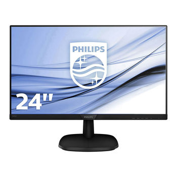 """cumpără Monitor 23.8"""" Philips """"243V7QJABF"""", Black în Chișinău"""