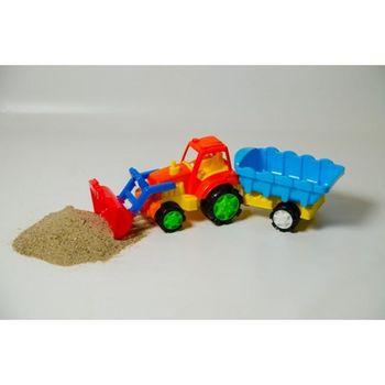 cumpără Burak Toys Tractor Excavator cu Remorcă în Chișinău