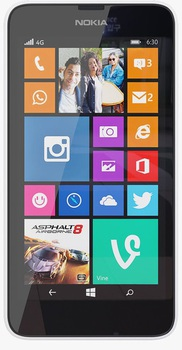Nokia Lumia 635 (White)