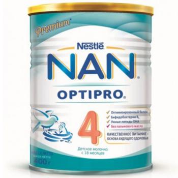 cumpără Nestle Nan 4 formulă de lapte, 18+ luni,  400 g în Chișinău