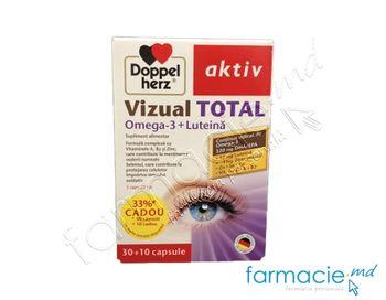 купить Vizual Total Omega 3 + Luteina  N30 + 10 Cadou Doppelherz в Кишинёве