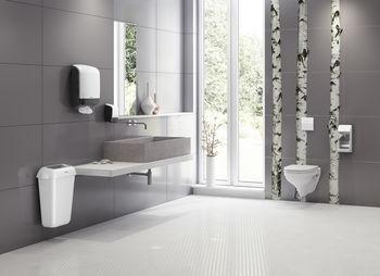 2-Roll White - Диспенсер для туалетной бумаги