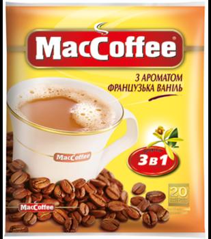 MacCoffee 3в1 Французская ваниль (20пак в упаковке)