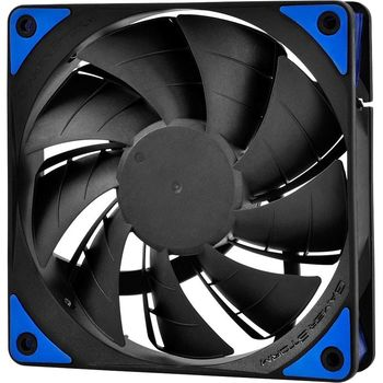 "120mm Case Fan - DEEPCOOL Gamer Storm TF series ""TF120"" Fan with Blue LED, 120x120x26mm, 500-1800rpm, <17.6~31.3dBa, 76.5CFM, Fluid Dynamic Bearing, 4Pin, PWM, 2-Layer Blade Design, DIY Solution, MTBF >100000 hours"