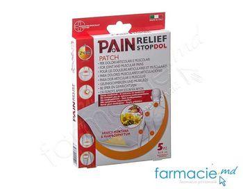 купить Emplastru STOPDOL 24ore contra dureri articulare, musculare 9x14cm N5 (113834) в Кишинёве