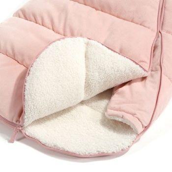купить Конверт в коляску La Millou Velvet Collection - Powder Pink в Кишинёве