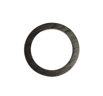 Mâner din lemn, negru / 13 cm