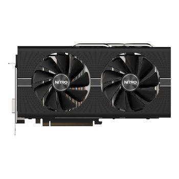 Sapphire NITRO+ Radeon RX 570 4GB DDR5 256Bit 1340/7000Mhz, DVI, 2x HDMI, 2x DisplayPort, Dual-X fans (Two ball bearing), Intelligent Fan Control (IFC-III), NITRO Glow 2, Lite Retail