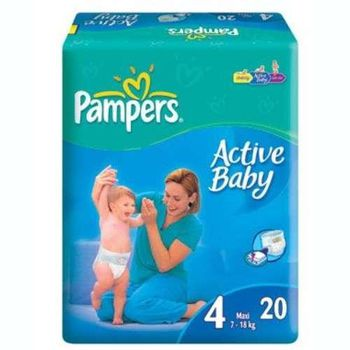 PAMPERS REGULAR 4 (7-14 kг) (20 шт.)