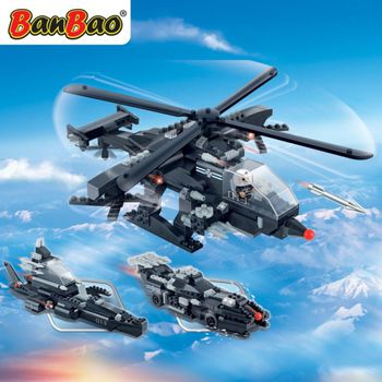 BanBao 8488  Army Helicopter  - 295 blocks