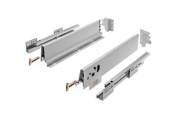 Modern Box gri L-450 H-68 deschidere totală cu amortizor
