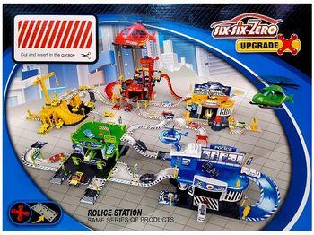 "Parcare ""Police"" 1:64, 62pz"