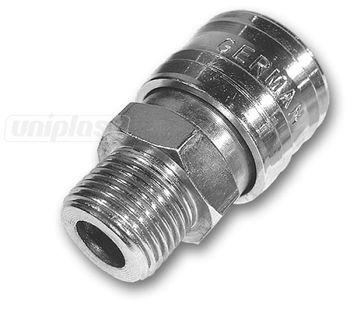 купить Соединение пневм. П 1/4 оцинков. SE3-2SM/STEEL(014082) в Кишинёве