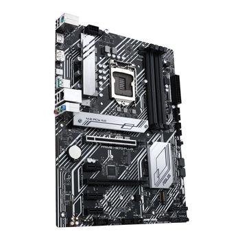 Placa de baza ASUS PRIME H570-PLUS Intel H570, LGA1200, Dual DDR4 4600MHz, 1xPCI-E 4.0/3.0 x16, 1xPCI-E 3.0 x16, DP 1.4/HDMI 2.0, USB3.2 Type-C, SATA RAID 6Gb/s, 2 x M.2 slots, 1x M.2 PCIe 4.0 x4, Intel Optane, SB 8-Ch., Gigabit Ethernet, AURA Sync