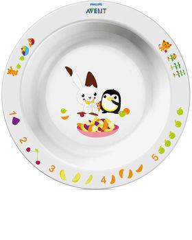 купить Детская тарелка большая 12 мес+ Avent SCF704/00 в Кишинёве