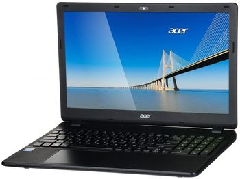 "ACER Extensa EX2519 Midnight Black (NX.EFAEU.035) 15.6"" HD (Intel® Celeron® Dual Core N3060 up to 2.48GHz (Braswell), 4Gb DDR3 RAM, 500Gb HDD, Intel® HD Graphics, DVDRW, CardReader, WiFi-N/BT, 3cell, 0.3MP CrystalEye Webcam, RUS, Linux, 2.4kg)"