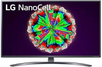 """43"""" TV LG 43NANO796NF, Black (SMART TV)"""