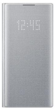 cumpără Husă telefon Samsung Galaxy Note 10 ,EF-NN970 LED View Cover Silver în Chișinău