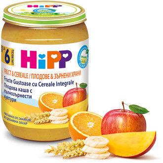 купить Hipp пюре био мультизлаки и фрукты, 6+мес. 190г в Кишинёве