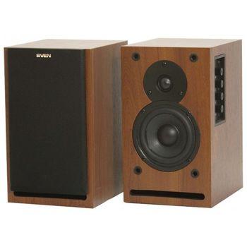 Speakers SVEN SPS-699S Walnut (орех), RMS 36W, 2x18W