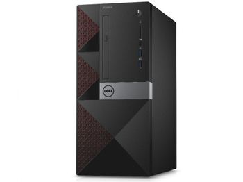 купить DELL Vostro 3668 MT + W10 Pro lntel® Pentium® G4560, 4GB DDR4 RAM, 500GB HDD, DVDRW, Intel® HD 610 Graphics, Wi-Fi/BT4.0, 240W PSU, USB KB&MS, Win 10 Pro, Black в Кишинёве