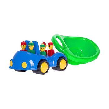 """Машинка """"Cookie"""" с человечками,зеленый код 40433"""
